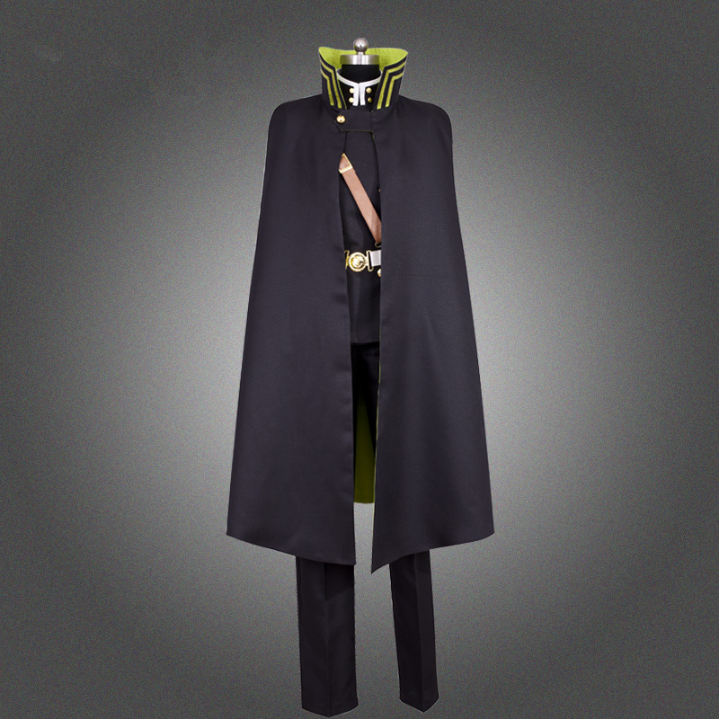 Anime High Quality Seraph Of The End Owari No Seraph Yuichiro Hyakuya Uniform Cosplay Costume Full Set Costumes Fancy Ball Party