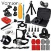 Gopro Hero 5 Accessories Set Go Pro Kit Mount SJ4000 Hero 4 3 2 1 Black