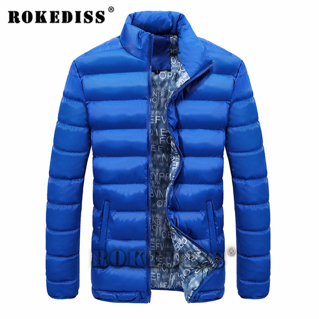 2017 Winter New White goose down jacket men Duck Down Collar Slim Down Jacket For Man Thick Coat Tide Male Plus size G194