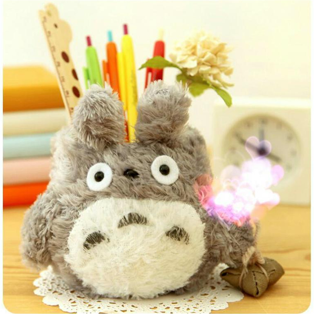 Cute Carton Pen Holder Kawaii Pencil Organizer Home Desk Decoration Plush Desktop Stand gift for children super cute plush toy dog doll as a christmas gift for children s home decoration 20