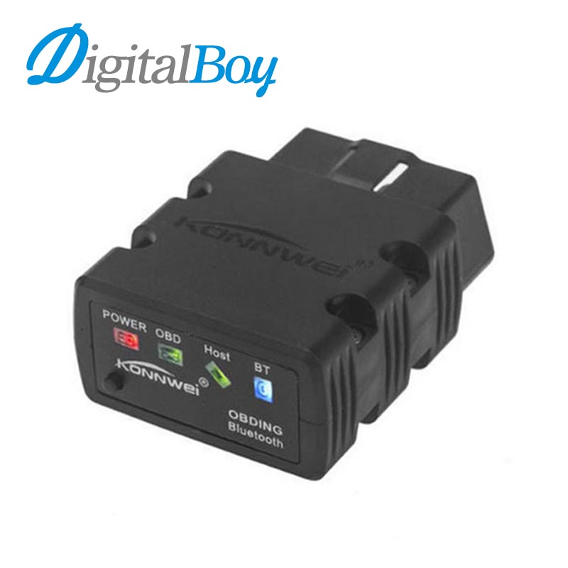 Digitalboy Car ELM327 Bluetooth OBD2 OBD II Car Auto Diagnostic Scan Tools Adapter ELM 327 for Android Torque Car Code Scanner
