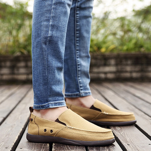 Image 5 - UPUPER לנשימה נעליים יומיומיות גברים בד נעלי 2020 קל משקל עצלנים גברים נעלי נהיגה דירות הליכה סניקרס גברים