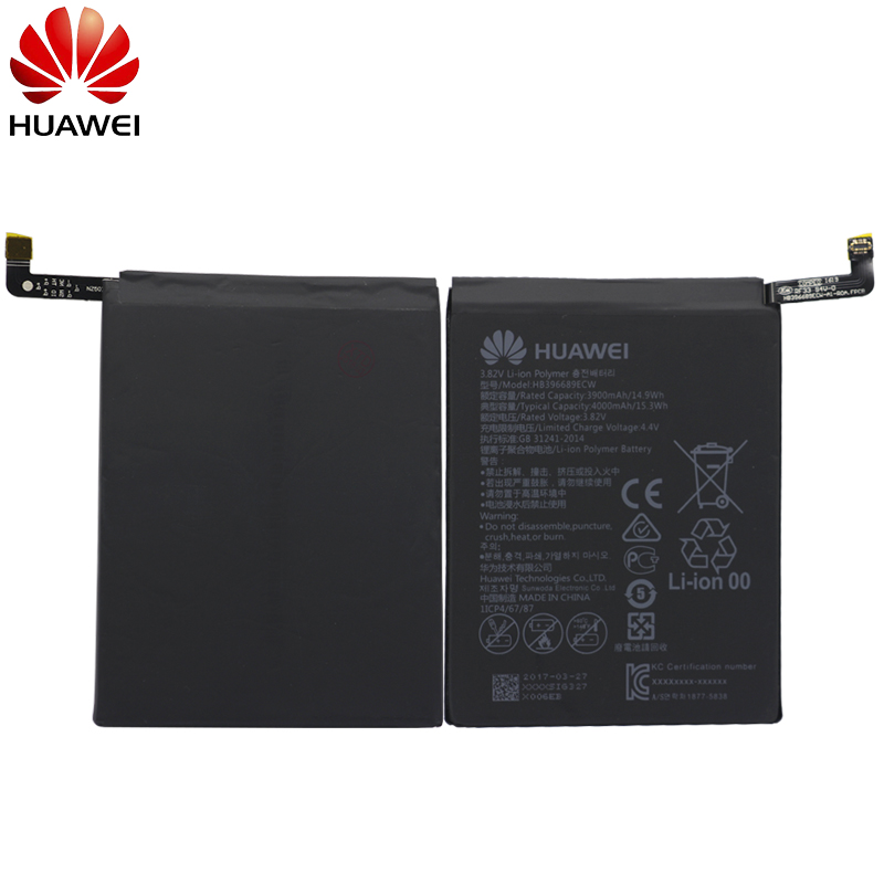 Image 2 - Hua Wei Original Phone Battery HB396689ECW For Huawei Mate 9 Mate9 Real 2900/3000mAh High Quality Replacement Batteries + Tools-in Mobile Phone Batteries from Cellphones & Telecommunications