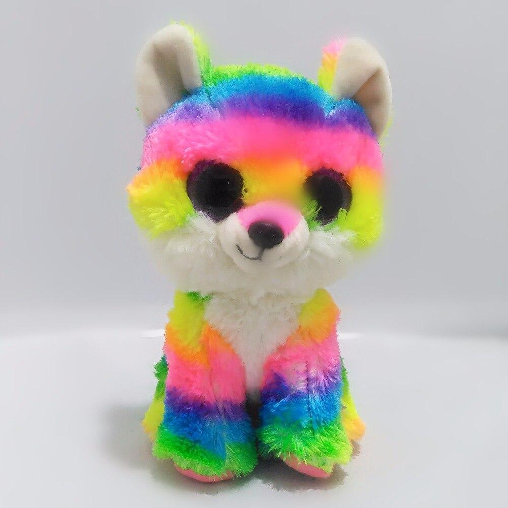 6 15 см Beanie Боос оригинальный большой Средства ухода для век плюшевые игрушки ячменя собака кукла ребенок дня рождения ребенка для детей под...