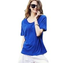 Blusas Femininas Plus Size Loose Tops Women O-neck T Shirts Short Sleeve Summer Korean Fashion Solid Casual Tee Shirt Hot Sale