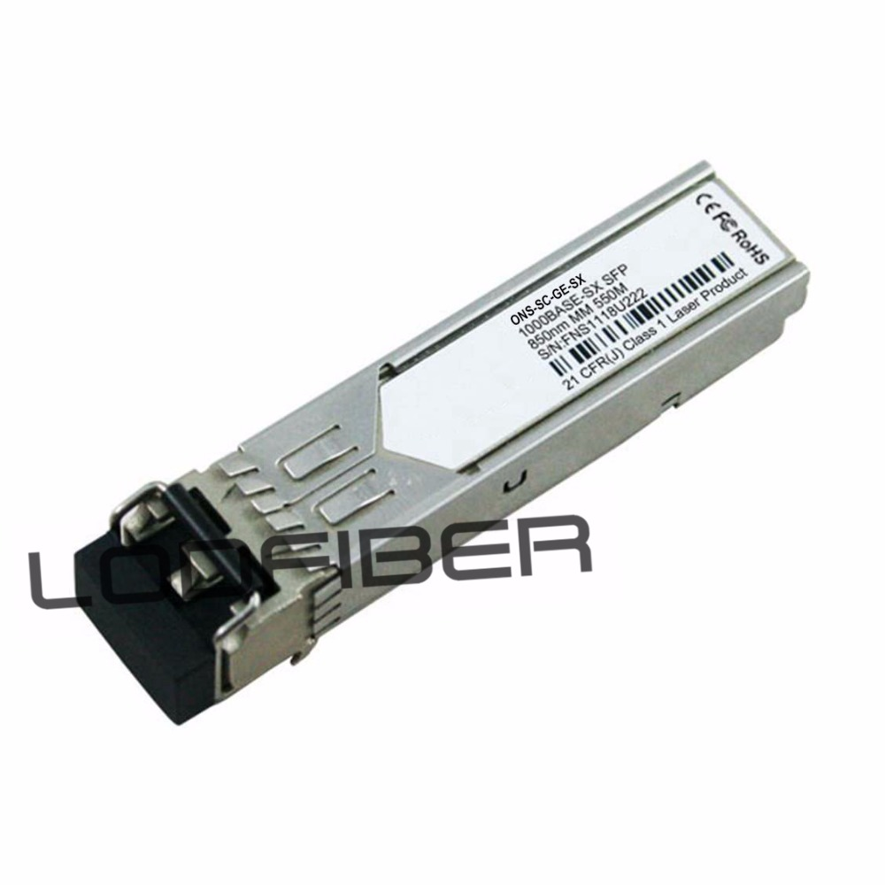 LODFIBER SFP-GE-S Cisco Compatible 1000BASE-SX SFP 850nm 550m DOM Transceiver