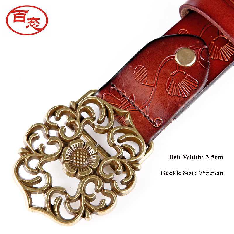 High Quality Genuine Leather Cow Skin Belts