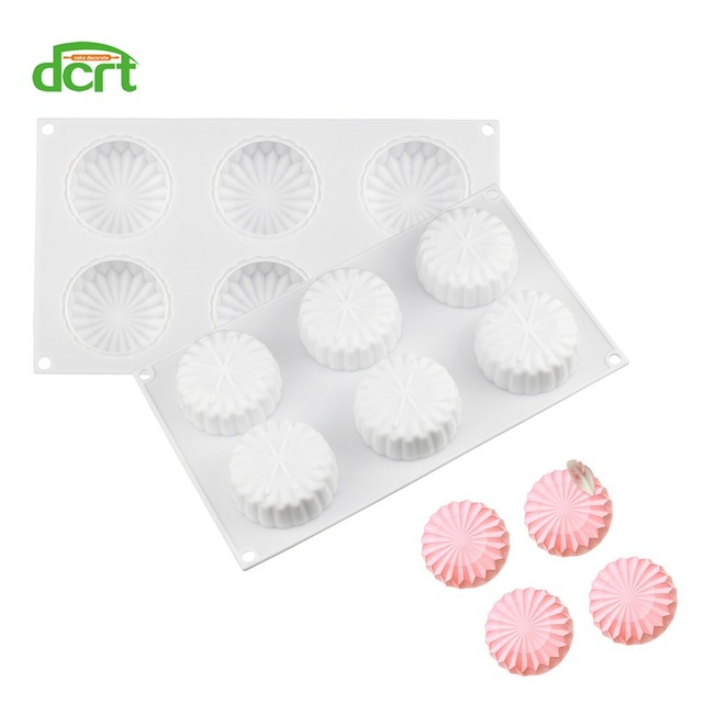 3D Origami Flower Shaped Silicone Cake Mold For Baking Mousse Chocolate Truffle Pastry Tool Bakeware Pan Cake Decorating Tools