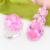 Top jóias de luxo conjuntos de jóias zircão rosa de alta qualidade da europa e nos estados unidos estilo quente anéis e pingente Set