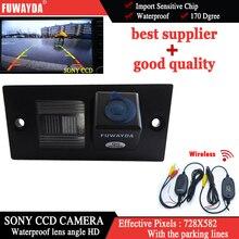 Fuwayda Беспроводной Sony CCD чип Специальное зеркало заднего вида изображение с Руководство Line камера для Hyundai H1 Гранд Starex водонепроницаемый