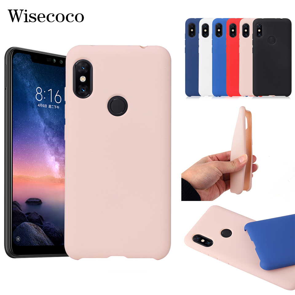 Soft Silicone Case for <font><b>Xiaomi</b></font> Mi 8 A2 Lite A1 6x 5x MAX 3 Redmi 6 6a S2 5 Plus Note 5 5a 6 Pro Official Style Original Tpu Cover image