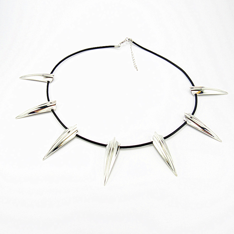 New Avengers Black Panther Necklace Wakanda King T'Challa Black Panther Cosplay Necklace Multan