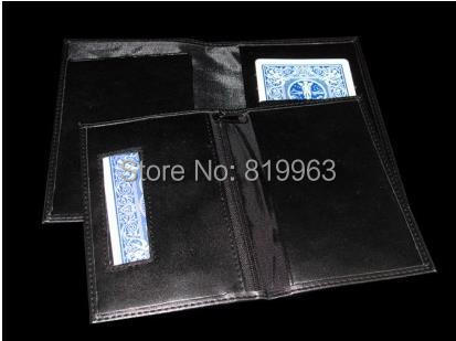 ФОТО Free shipping, Insurance Wallet-Magic Trick,Accessories,stage magic props,close up
