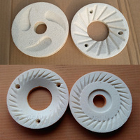 Replacement Commercial 15KG/H Peanut Butter Sesame Paste Machine Grinding Stone 100mm Diameter