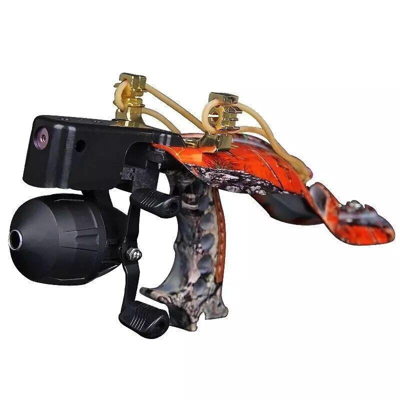 Outdoor Hunting Fishing Slingshot Shooting Catapult Laser Sling Shot Catapult Crossbow Bolt Shooting Fish Darts Accessories