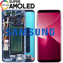 ORIGINELE 5.8 ''S8 LCD met frame voor SAMSUNG Galaxy S8 G950 G950F Display S8 Plus G955 G955F Touch Screen digitizer Vervanging(China)