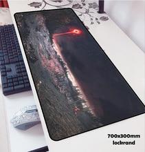 כהה נשמות עכבר pad 700x300x3mm משטח עכבר notbook מחשב padmouse פופולרי משחקי שטיחי עכבר גיימר כדי מקלדת עכבר מחצלות