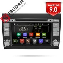 Isudar 2 Din Auto Radio Android 9 Per Fiat/Bravo 2007 2008 2009 2010 2011 2012 Car Multimedia Video navigazione di GPS di lettore DVR FM