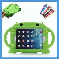 Дети студент мягкий чехол для iPad Mini 1 2 3 4 ручки, подставка Симпатичный мультфильм силиконовый чехол Планшеты чехол для iPad Mini 4, новый дизайн