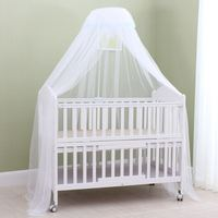 Summer Baby Crib Mosquito Net Self stand Baby Bed Net Crib Netting with Holder Universal Baby Infant Bed Canopy Including Holder