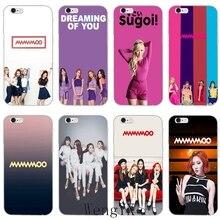 Mamamoo KPOP slim Ultra Thin TPU Soft phone cover case For Samsung Galaxy S3 S4 S5 S6 S7 edge S8 S9 Plus mini Note 3 4 5 8
