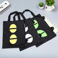 Cute black Cat A4 Bag Fabric File Folder For Documents Stationery 32*24cm Document Bag School Suppliers [category]