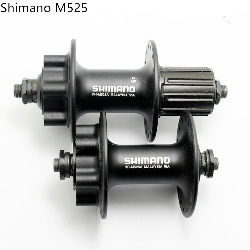 New Shimano Deore M525A 36 Hole Rear 6-Bolt Disc Hub Black