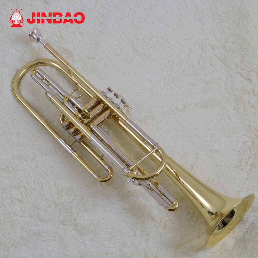 Original music jinbao Trumpet musical jbbt-1900 bb professional bass Instruments trompete trumpeter trompette trombeta tromba musical instruments automatic music score book page flipping machine music sheet auto page turning tools