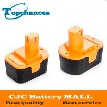 2PCS High Quality 14 4V 2000mAh NI CD Power Tool Battery For RYOBI 130281002 RY62 RY6200
