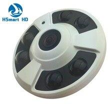 Ojo de pez 180 Grados AHD 960 P 1080 P 2.0MP CCTV Cámara Domo para Interiores 6 de Corte IR de Visión Nocturna 1.7mm lente sony ccd 700TVL LEVA