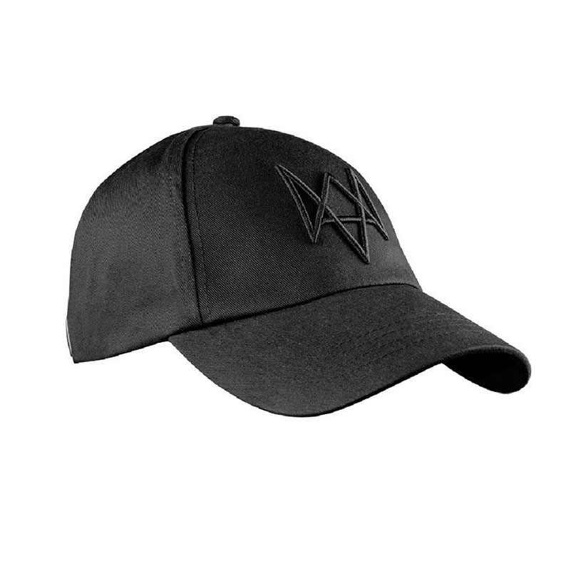 Часы шапка для собак Aiden перламутровая Черная бейсбольная кепка косплей реквизит с регулируемым ремешком Хип Хоп Хэллоуин костюм аксессуары