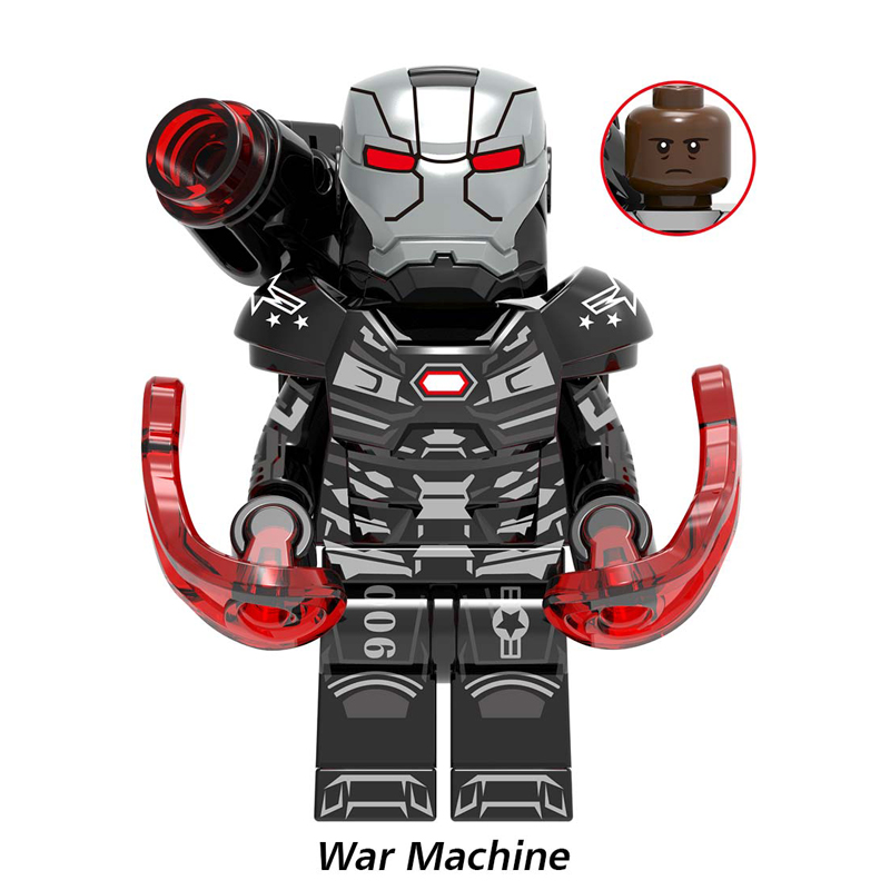 Image 4 - Marvel Avengers Endgame Iron Man Shuri Scarlet Witch Wasp Pepper Captain America Figures Toys Compatible With Lego X0263-in Blocks from Toys & Hobbies