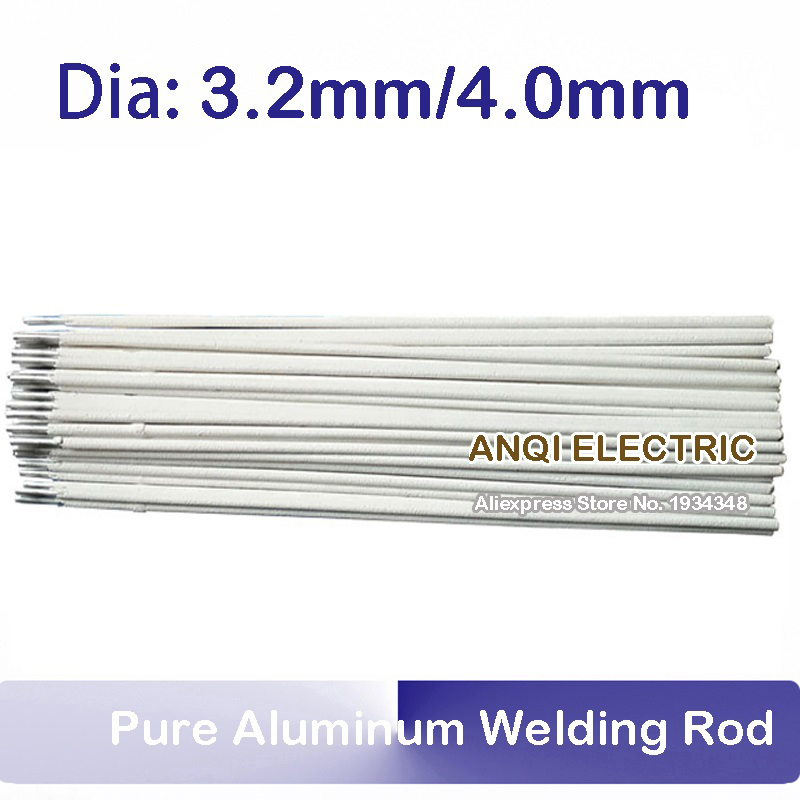 1KG pure aluminum welding rod electrode Shielded metal arc welding AL109 3.2mm 4.0mm 300a electrode holder arc welding plug 10 25mm lead cable 3 meter use in welding machine