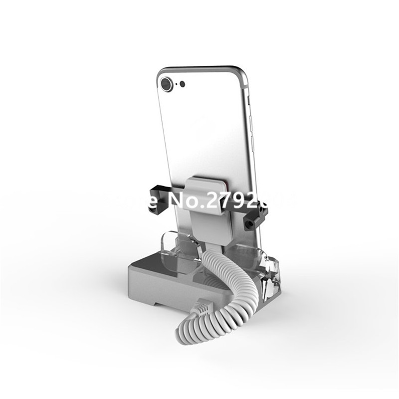 5pcs/lot High Quality Acrylic Security Mobile Phone Holder for retail exhibition Tablet Shiny Bracket China Factory  with clamp 10pcs lot high quality acrylic holder