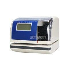 JM 880 wyświetlacz LCD czas data maszyna drukarska czas data Record zużycie wehikuł czasu dokument Transceiver dla samochodu na parkingu garnek|Rejestratory czasu pracy|Komputer i biuro -