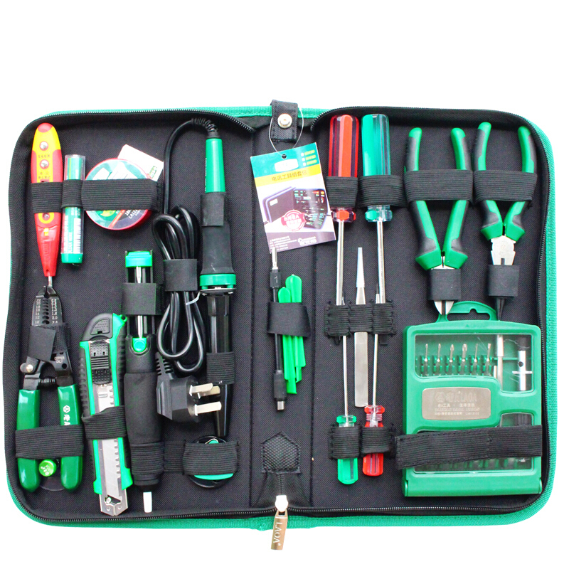 LAOA 52pcs Electronic Repair Tools Set Within 32 in 1 Precise screwdrivers Electric Solder Iron Wire Cutter Utility Knife цена