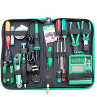 LAOA 52pcs Electronic Repair Tools Set Within 32 in 1 Precise screwdrivers Electric Solder Iron Wire Cutter Utility Knife