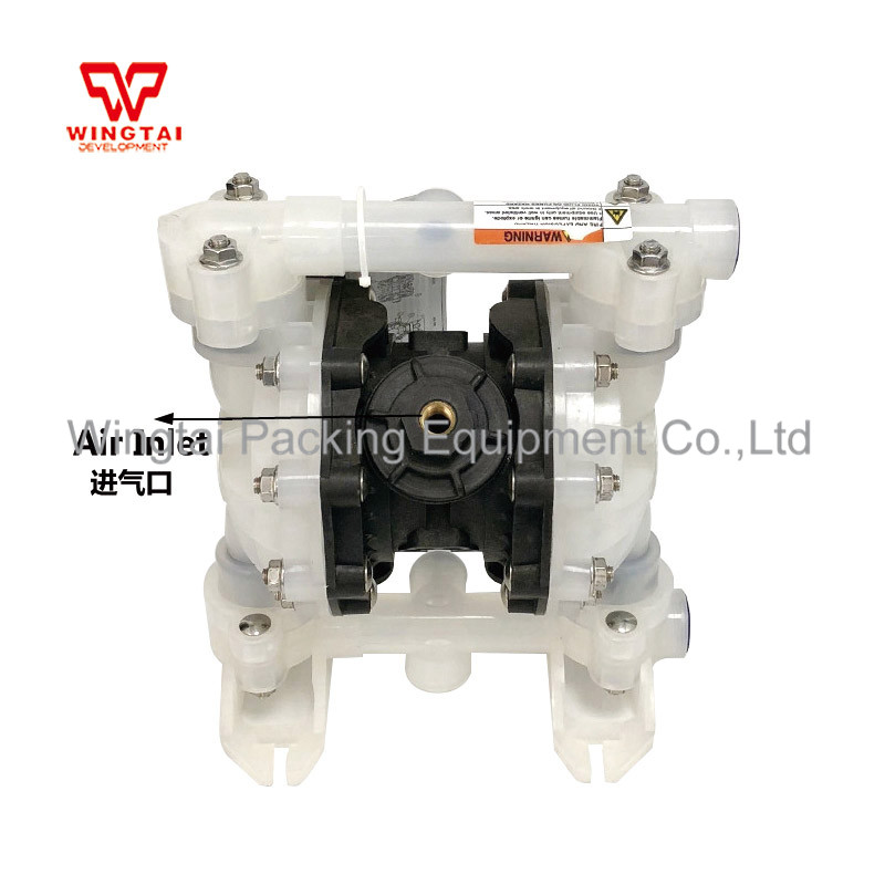 US $260 0  57L/Min Corrosion resistant Plastic Air operated Pump Transfer  Wilden Pumps Double Diaphragm Pump-in Pumps from Home Improvement on