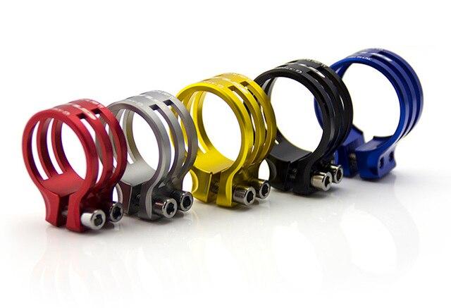 GUB 550 alliage daluminium 31.8mm/34.9mm 25g dégagement rapide montagne route vtt vélo vélo tige de selle tige de selle pince Tube Clip 550