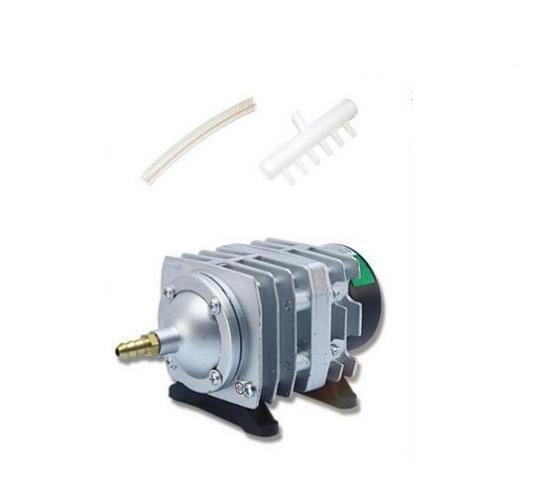 Aquarium electromagnetic air compressor 70L min 45W fish tank air pump increasing oxygen pump HAILEA ACO318