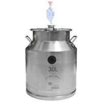 2019 Parts for Moonshine Still: 30/50Litre 304 Stainless Steel Fermenter Storage Food Milk Tank Home Wine Beer Brewing Barrel