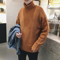 Водолазки, мужские свитера тренд пара оригинальный Ветер Свободный свитер куртка мужская Осенняя зимняя форма 2019 Новинка