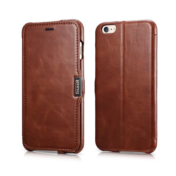 Γνήσιο ICARER Ultra Thin Vintage Flip Cover για iPhone6 - Ανταλλακτικά και αξεσουάρ κινητών τηλεφώνων - Φωτογραφία 1