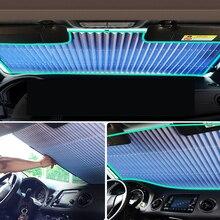 46 см/65 см/70 см/80 см Upgarde Retracta'ble SUV грузовик автомобиль лобовое стекло Солнцезащитный козырек на заднее стекло Солнцезащитный козырек УФ-защита занавеска