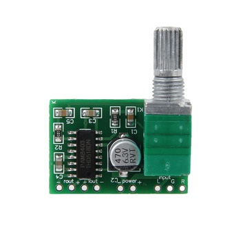 PAM8403 Mini 5V Audio Digital Amplifier Board Switch Potentiometer powered USB image