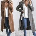 Snowshine #3001 женская Мода Тонкий Длинный Жакет Пальто Ветровка Куртка Верхняя Одежда Кардиган Пальто бесплатная доставка