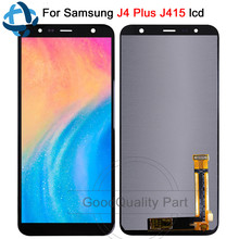 6.0For Samsung Galaxy J4+ J415 lcd Display Screen replacement Digitizer Assembly for Samsung J4 Plus J415F J415F SM-J415G lcd bobbi brown long wear eye base база под тени для век medium