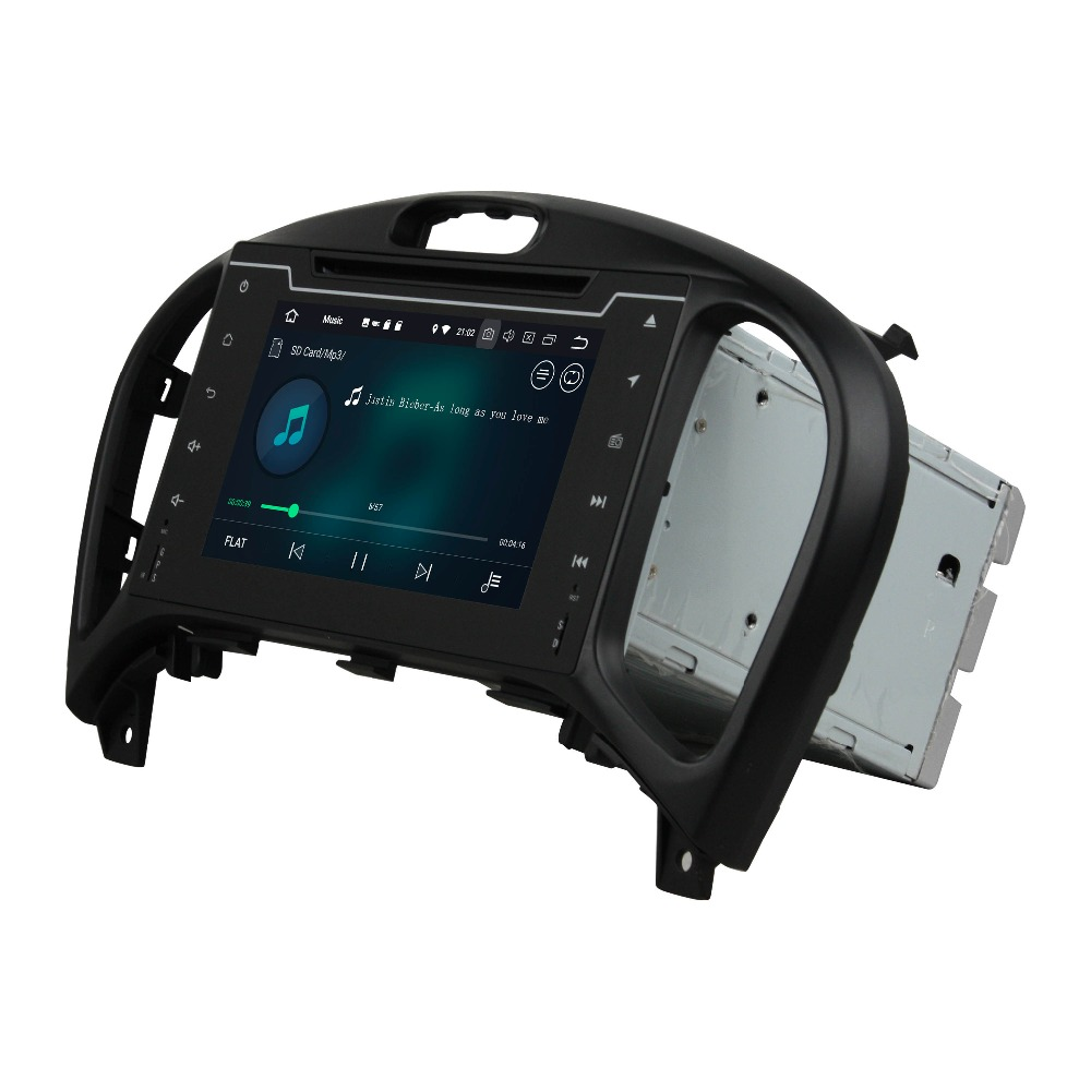 4GB RAM 2 din 7 Android 8.0 Car DVD Player for Nissan Juke 2004 2005 2016 With GPS Radio Bluetooth WIFI Mirror link USB DVR
