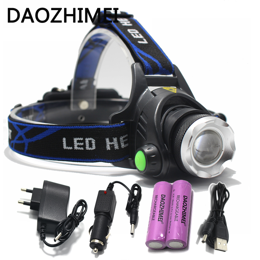 5000 lumens led headlamp cree xml t6 xm-l2 Headlights Lantern 4 mode waterproof torch head 18650 Rechargeable Battery Newest 5000 lumens led headlamp xml t6 l2 led headlight lantern 4 mode waterproof head flashlight torch 18650 rechargeable battery