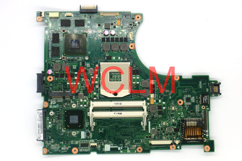 все цены на free shipping NEW original N56V N56VM motherboard MAIN BOARD mainboard REV 2.3 60-N9JMB1300-(F06) GT630 2G graphics card онлайн
